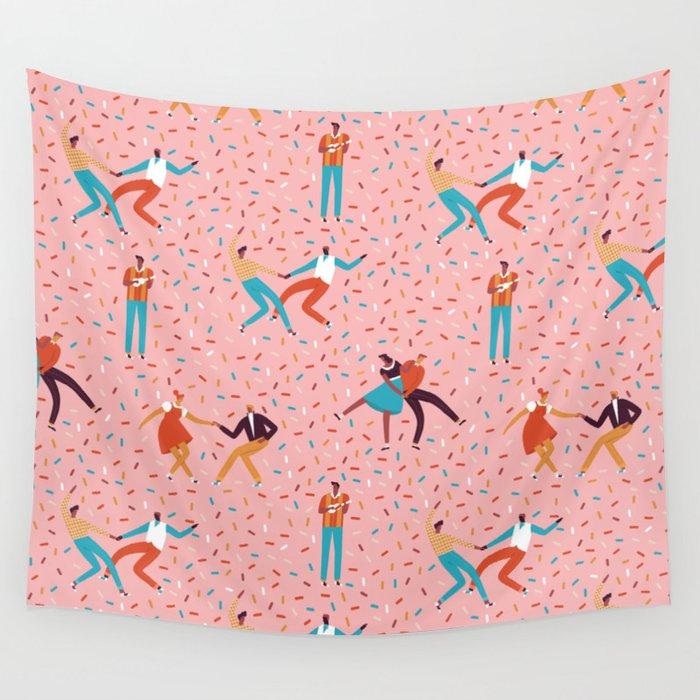 Sock hops Wall Tapestry