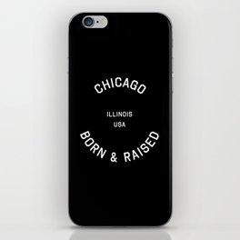 Chicago - IL, USA (Badge) iPhone Skin
