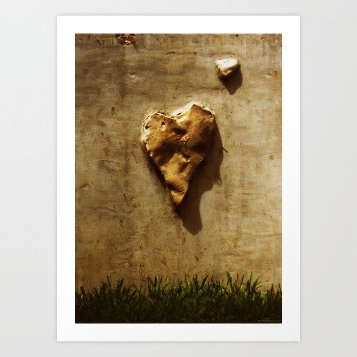 """Stone Cold Heart"" Art Print"