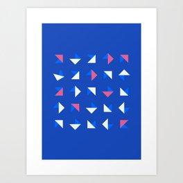 Geometrica - Color Study - 1/14/2019 - Graphic Art Print Art Print