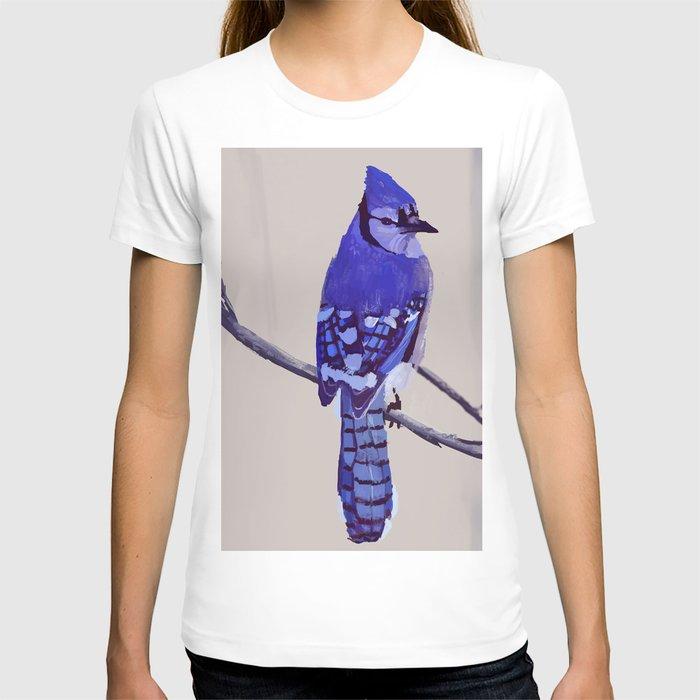 Blue Jay Bird T-shirt