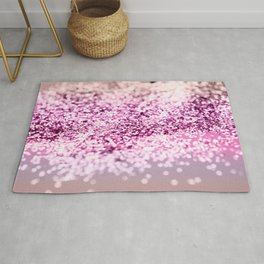 Unicorn Girls Glitter #7 #shiny #decor #art #society6 Rug