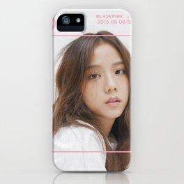 jisoo blackpink iPhone Case