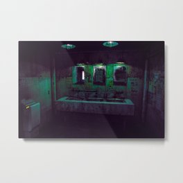 T0:KY:00 / Kanagawa Nights / 神奈川区 Metal Print