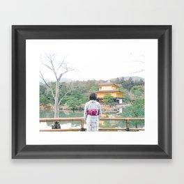 JAPAN TEMPLE - Photography Framed Art Print