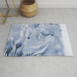 Soft blue lisianthus - Hampton Style Rug