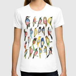 Birds and their insides T-shirt
