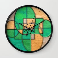 equality Wall Clocks featuring Sublime Equality by Robin Curtiss