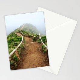 Empty walking trail Stationery Cards