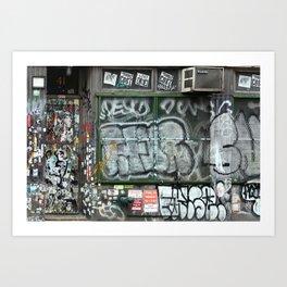 On Bleecker street, East Village | NYC Art Print