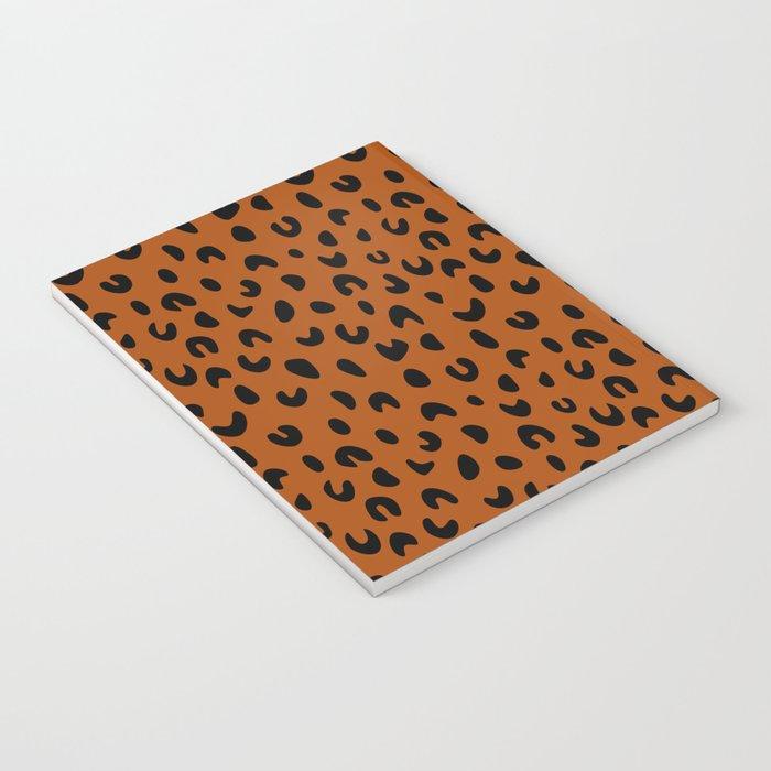 wild leopard Notebook
