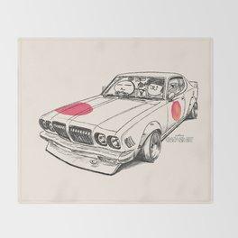 Crazy Car Art 0170 Throw Blanket