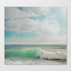 The Painted Sea Canvas Print