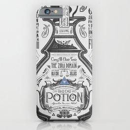 Legend of Zelda Blue Chu Potion Advertisement iPhone Case