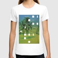 rio de janeiro T-shirts featuring Rio de Janeiro by Virbia