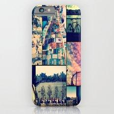 London Collage iPhone 6s Slim Case