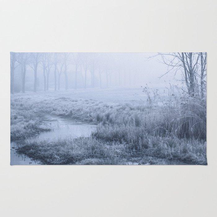 Winter Field Rug