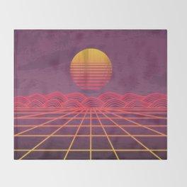 Neon Dream's  Throw Blanket