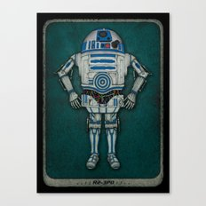 R2 3PO Canvas Print