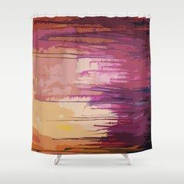 beauty on fire  Shower Curtain