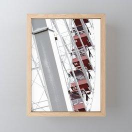 Navy Pier 2 Framed Mini Art Print