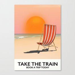 Take The Train Canvas Print