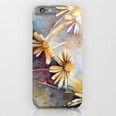 Purple Dream Garden, watercolor explorations Slim Case iPhone 6s
