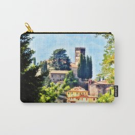 Duomo of Barga (color) Carry-All Pouch