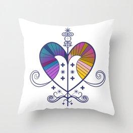 Voodoo Love Throw Pillow