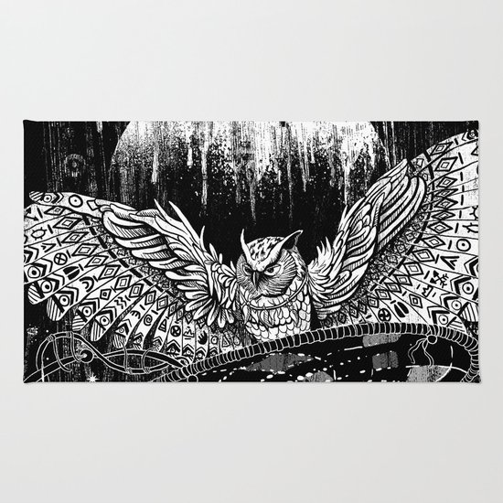 Spirit Owl Rug