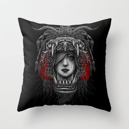 Winya No. 125 Throw Pillow