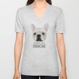 Pardon My Frenchie - French Bulldog Unisex V-Neck