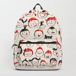 Silly Faces Backpack