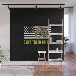 Don't Tread On Me Wall Mural