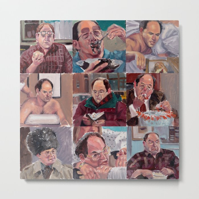 9 shades of Costanzas Metal Print