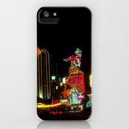 Las Vegas Lights iPhone Case