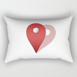 Right Where You Belong Rectangular Pillow