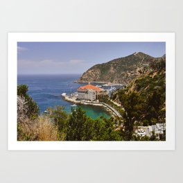 Catalina Island Casino Art Print