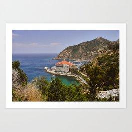 Catalina Island Casino Art Print