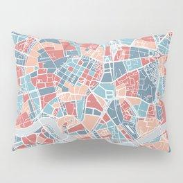 Krakow map Pillow Sham