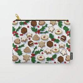 Christmas Treats and Cookies Carry-All Pouch