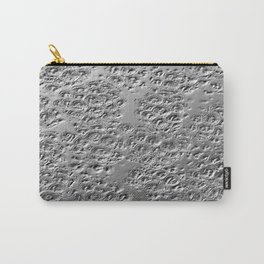 Damaged silver Carry-All Pouch