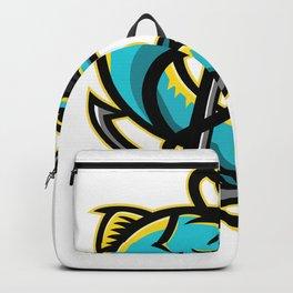 Barracuda and Anchor Mascot Backpack