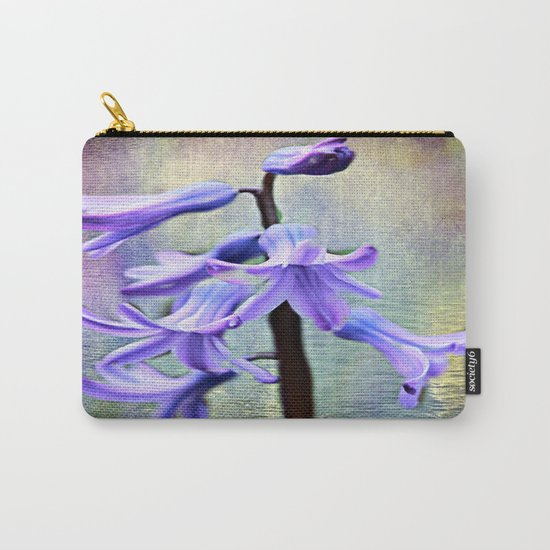 Hyacinth Flower Carry-All Pouch