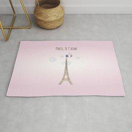 Paris je t'aime Rug