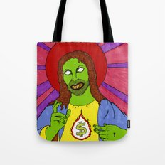 Cash for Jesus US version Tote Bag