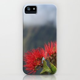 Lehua ʻUlaʻula o Kalalau iPhone Case