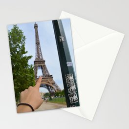 Spotted: Eiffel Tower Stationery Cards