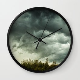 The Tempest #2 Wall Clock
