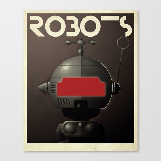 Robots - Tonto Canvas Print